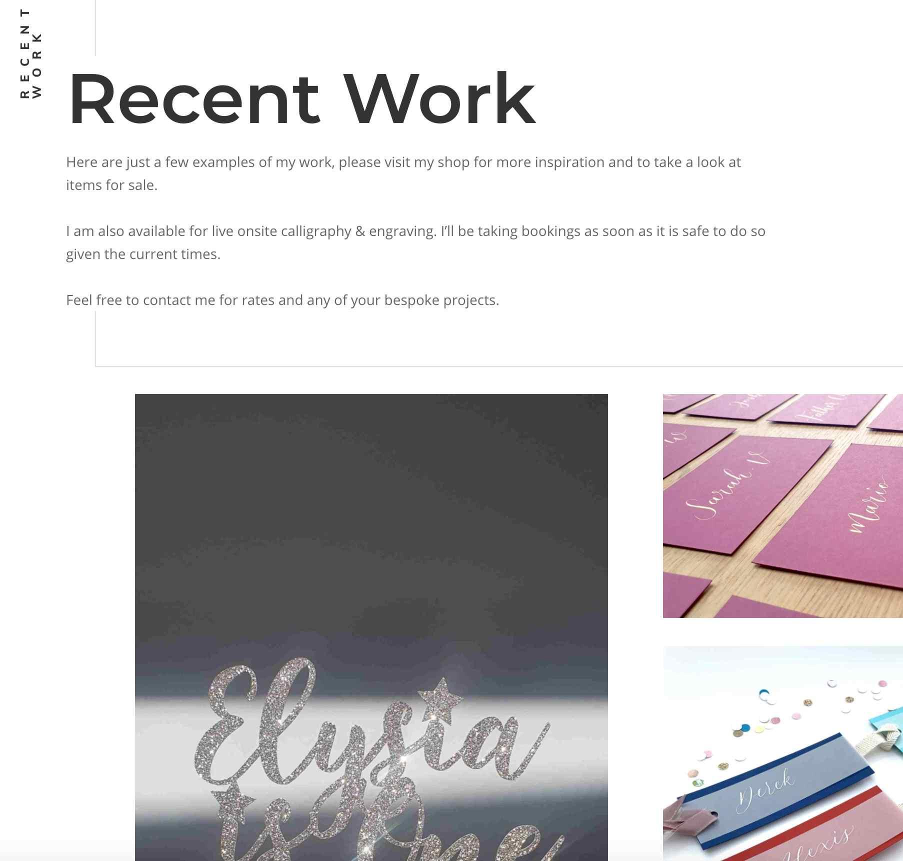 slab studio website designer lba recent work screen shot